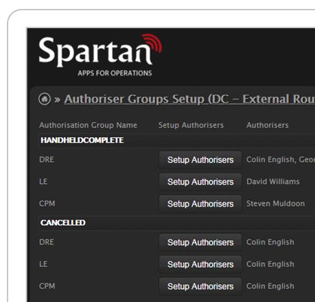 flex auth workflow screenshot
