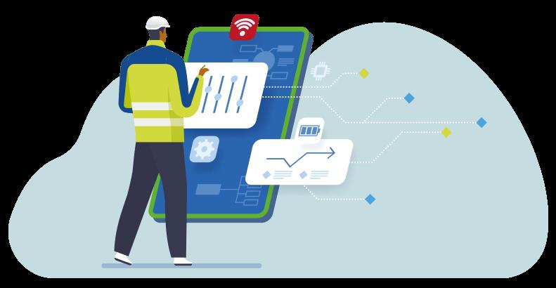 industrial services illustration