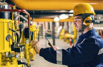 industrial services management app