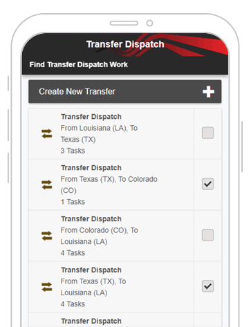 transfer app screenshot 1